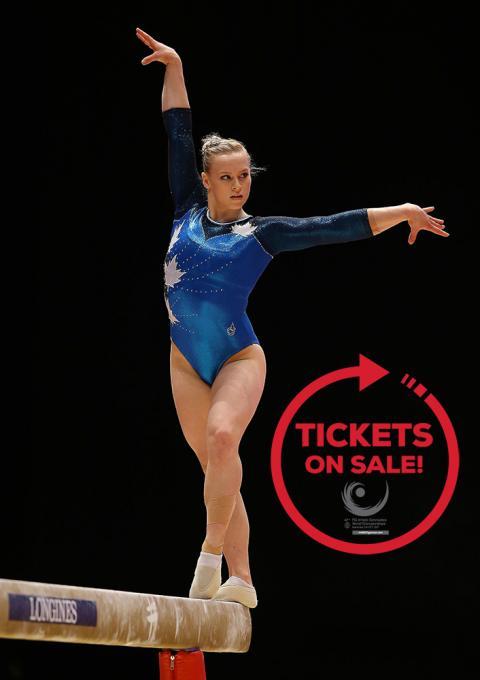 2017 FIG Artistic Gymnastics World Championships Poster