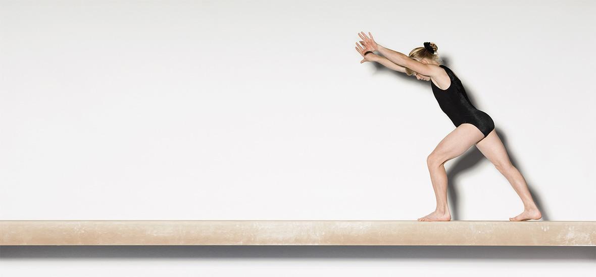 Gymnastics NS Balance Beam